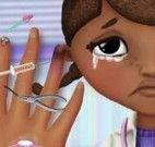 Doutora Brinquedos curativos da mão