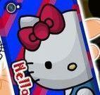 Decorar celular da Hello Kitty