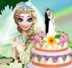 Fazer bolo de casamento da Elsa