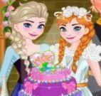 Anna decorar bolo de casamento