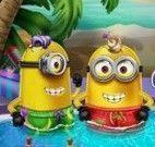 Festa dos Minions na piscina