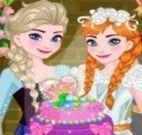 Decorar bolo de casamento Frozen