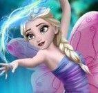 Elsa fada maquiagem