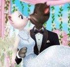 Tom e Angela noivinhos moda