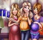 Selfie das princesas grávidas
