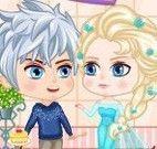 Bolo de aniversário da Elsa