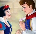 Branca de Neve beijo príncipe