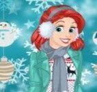 Princesas look da neve