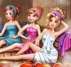 Princesas na sauna