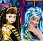 Princesas Monster High decorar e vestir