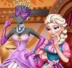 Elsa e amigas vestir manequim