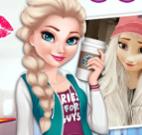Anna e Elsa moda e maquiar