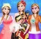 Anna Frozen profissões