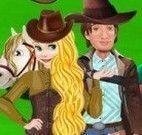 Princesa roupa cowboy