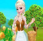 Elsa na fazenda