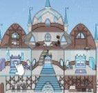 Castelo decoração Elsa