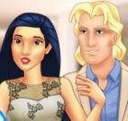 Pocahontas e namorado