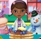 Doutora Brinquedos fazer panquecas