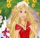 Vestir a Barbie noiva
