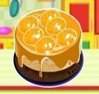 Fazer bolo de laranja