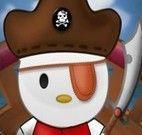 Roupas de pirata Hello Kitty