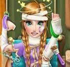 Frozen Anna no hospital