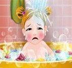 Banho no bebê