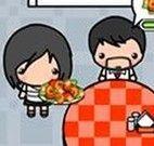 Servir pizzas