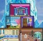 Decorar castelo da Frozen