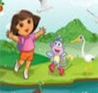Decorar cenário da Dora