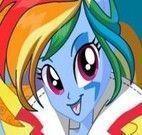 My Little Pony roupas de rock