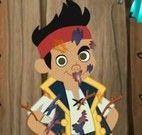 Jack pirata no banho