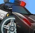 Estacionar carro de polícia