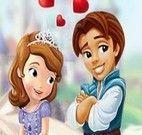 Beijo da Princesa Sofia