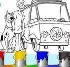 Pintar desenho do Scooby Doo