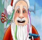 Fazer barba do Papai Noel