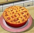 Sara receita de torta salgada de ruibarbo
