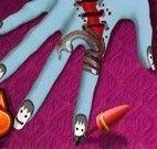 Manicure do halloween
