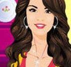 Ajudar Selena Gomez a limpar a casa