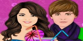 Festa particular de Justin Bieber e Selena