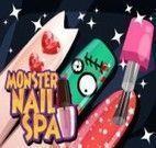 Pintar unhas das Monster High