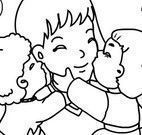 Colorir desenho dia das mães