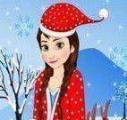 Roupas de natal Anna Frozen