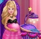 Barbie grávida decorar quarto do bebê