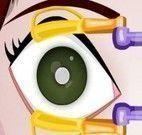 Cirurgia de emergência nos olhos