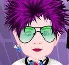 Vestir bebê punk