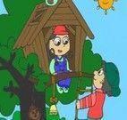 Colorir casa na árvore