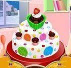 Fazer bolo de criança
