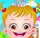 Bebê Hazel roupas de princesas