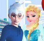 Elsa e Jack no mercado